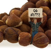 go nuts