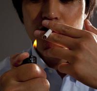 have a cigarette