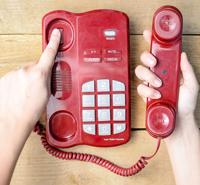 put sb on hold